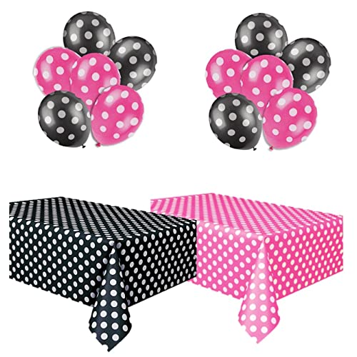 Pink And Black Party Supplies Amazon Com