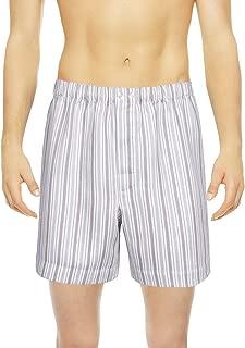 Vincenzi Boxer Shorts Sateen Linen Cotton   Made in Europe