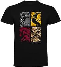 The Fan Tee Camiseta de Hombre Juego de Tronos Stark Tyrion Dragon Daenerys Khaleesi Valar Arya
