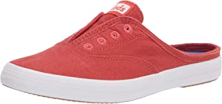 Keds Women's Moxie Mule Washed Twill Slip On Sneaker
