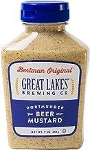Bertman Original Great Lakes Dortmunder Gold Beer Mustard - 9 oz