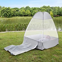 Lixada Buddhist Meditation Tent - Single Mosquito Net Temples Sit-in Free-Standing Shelter Cabana, Quick Folding Camping Tent