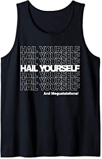HAIL YOURSELF (White New York Bodega Thank You Bag) Tank Top