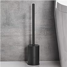 Toiletborstel Roestvrijstalen toiletborstel met basis en dekking vloer-tot-plafond modely om toiletborstel op te slaan die...