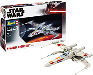 Revell- Star Wars X-Wing Fighter Kit Modello, Color Plateado (06779)
