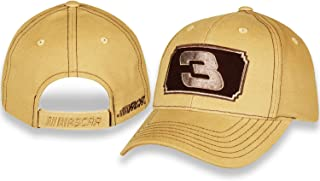 Dale Earnhardt Sr #3 Mustard Yellow Brushed Twill Hat/Cap with Velcro Closure