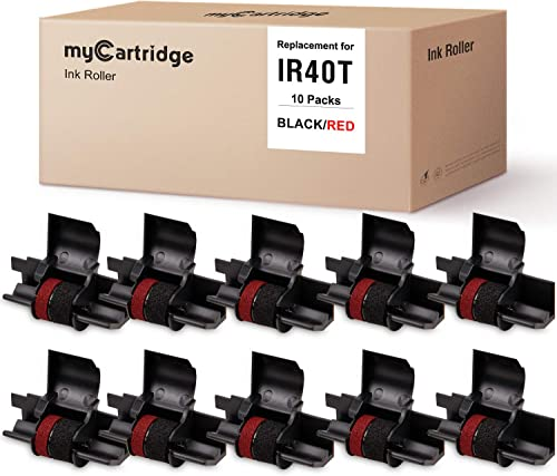 high quality MYCARTRIDGE IR-40T online sale CP-13 NR-42(10-Pack) Compatible with Calculator Ink discount Roller Replacement for IR-40T CP-13-Black & Red online
