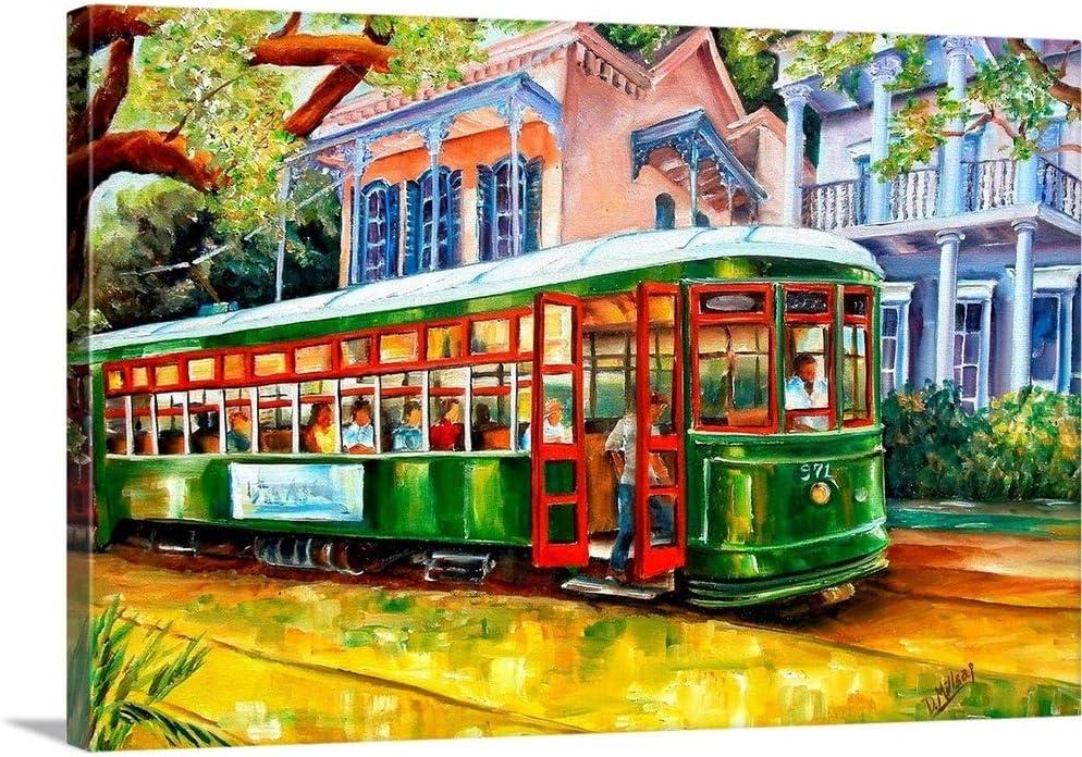 Streetcar in The Garden District Louisville-Jefferson County Mall Canvas New Art Superlatite Print Orle Wall
