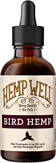Bird Hemp - Supports The Immune System, Helps with Feather Plucking, curbs Destructive Behavior and Promotes Relaxation