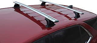 BRIGHTLINES Equinox Roof Rack Cross Bars Compatible with 2018-2019 Chevy Equinox Without Roof Rails