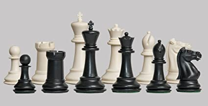 The House of Staunton - The Marshall Library Plastic Chess Set - Pieces Only - 2.875