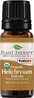 Plant Therapy Helichrysum Italicum Organic Essential Oil 100% Pure, USDA Certified Organic, Undiluted, Natural Aromatherapy, Therapeutic Grade 10 mL (⅓ oz)