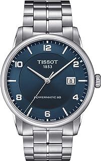 Men's Luxury Swiss Automatic Stainless Steel Dress Watch T0864071104700