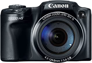$199 » Canon PowerShot SX510 HS 12.1 MP CMOS Digital Camera (discontinued by manufacturer) (Renewed)