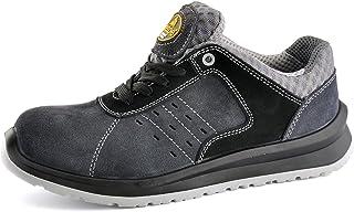 SAFETOE Chaussure de Securité Homme Femme - L7331 S1P Cuir Chaussures de Travail Légère Chantiers et Industrie Basket Resp...