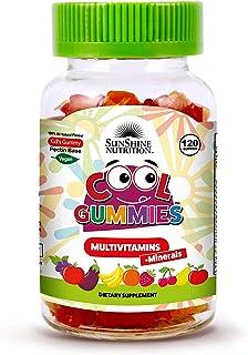 SUNSHINE NUTRITION Cool Gummies Vegan Multivitamins, 120'S