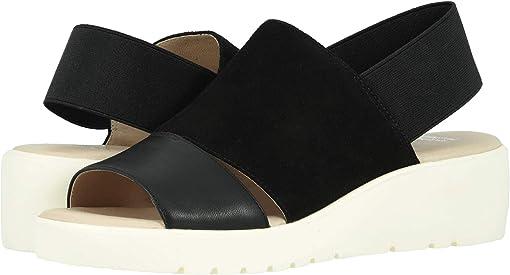 Black Italian Glove Leather/Italian Suede