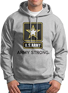 MARC Men's X Army Strong US Army Hoodies Ash Size S