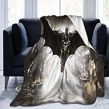 "KGSPK Ultra-Soft Micro Fleece Blanket,Bat-Man Ark-ham Kn-Ight,Home Decor Warm Throw Blanket for Couch Bed,80""X 60"""
