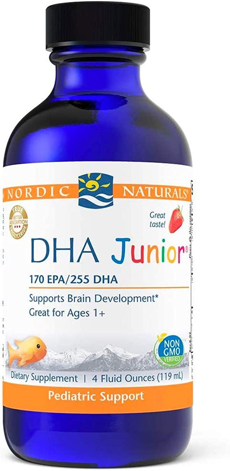 Nordic Naturals Pro DHA Junior Large discharge sale Strawberry Sale price oz 530 4 mg Total -