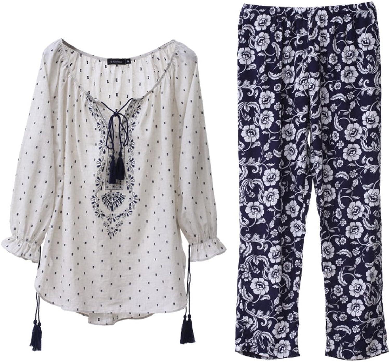 Sexy Pajamas Fashion Leisure Sweet Comfortable Pajama Ladies Home Service Kit