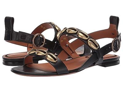 Etro Shell Sandal (Black) Women