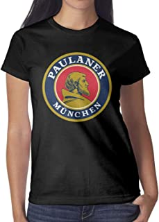 Short-Sleeve Cotton Paulaner- T-Shirt for Women