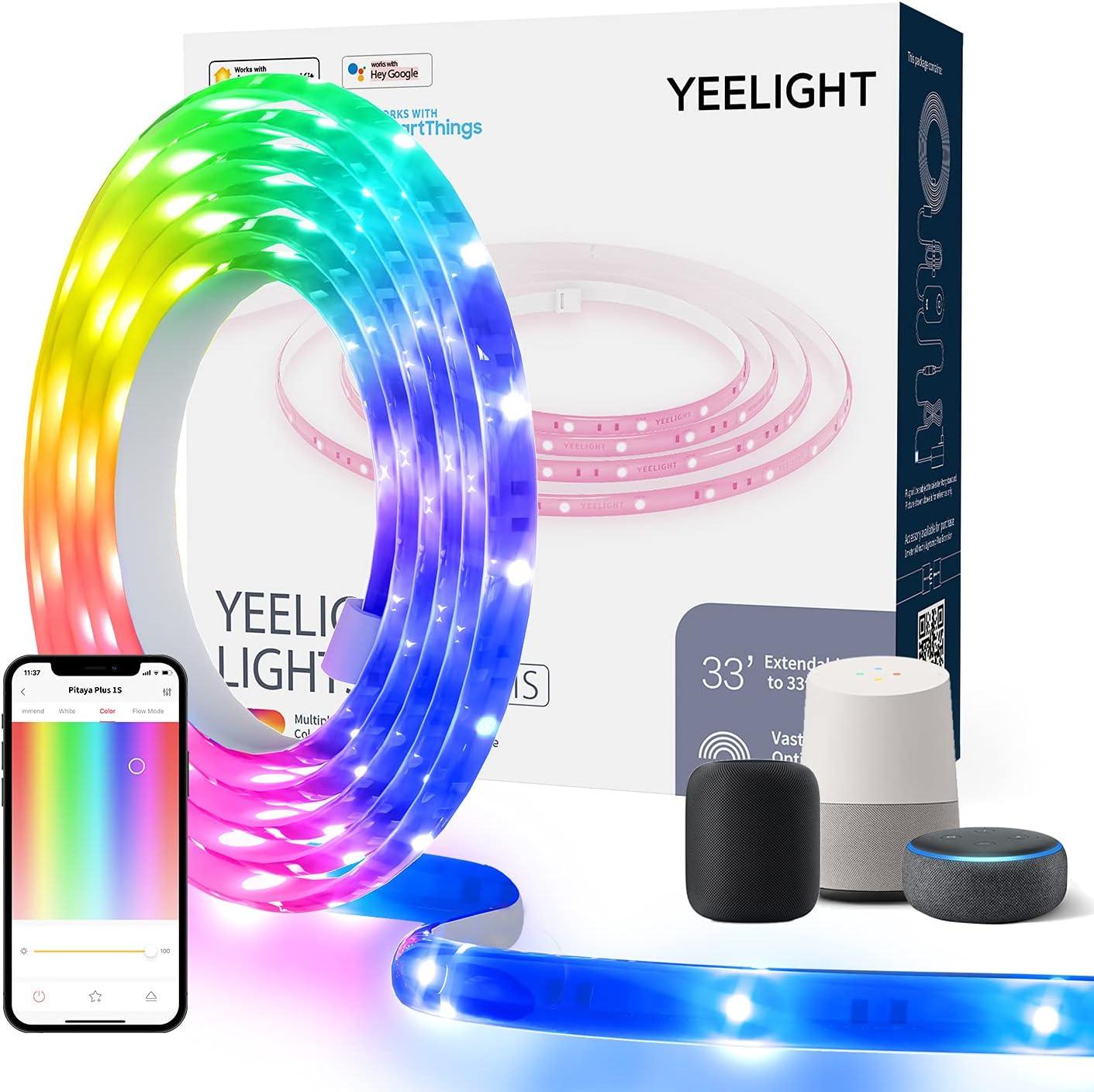 Yeelight 6.5ft Smart RGB WIFI LED Light Strip $15.99 Coupon