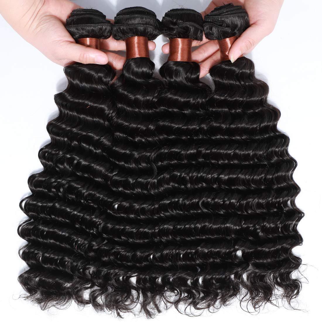 ANGIE QUEEN 特価 Peruvian ◆セール特価品◆ Virgin Hair 100% Unproces Bundles Wave Deep