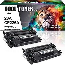 Cool Toner Compatible Toner Cartridge Replacement for HP 26A CF226A 26X CF226X for HP Laserjet Pro m402dn M402n M426fdw M402dw HP Laserjet Pro MFP M426fdw M426dw M426fdn HP M402 M426 Printer Ink-2Pack