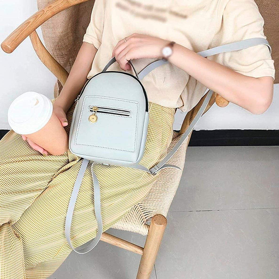 Braun nbvmngjhjlkjlUK Mini Damen Rucksack Leder Damen Taschen Kleiner Rucksack Mode Schultaschen M/ädchen Bagpack Netter weiblicher Rucksack