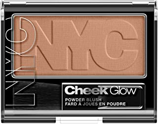 N.Y.C. New York Color Cheek Glow Blush, Riverside Rose, 0.28 Ounce