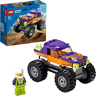 LEGO 60251 City Great Vehicles Monster Truck Toy for Kids 5+ Years Old