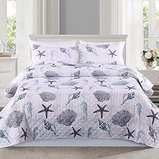 Best seashell bedspread sets Reviews