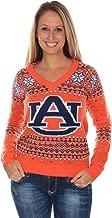 Tipsy Elves Women's Auburn University Sweater - Auburn Tigers Ugly Christmas Sweater