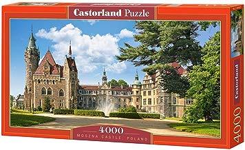 CASTORLAND Moszna Castle, Poland 4000 pcs Puzzle - Rompecabezas (Poland 4000 pcs, Puzzle Rompecabezas, Ciudad, Niños y Adultos, Niño/niña, 9 año(s), Interior)