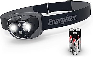 Energizer Amazon Vision Ultra 360 hoofdzaklamp, koplamp (inclusief batterijen), zwart