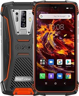 SHIHUI Cellphone BV6900 Rugged Phone, 4GB+64GB, IP68/IP69K/MIL-STD-810G Waterproof Dustproof Shockproof, Quad Back Cameras, 5580mAh Battery, Fingerprint Identification, 5.84 inch Android 9.0 MTK6757 H