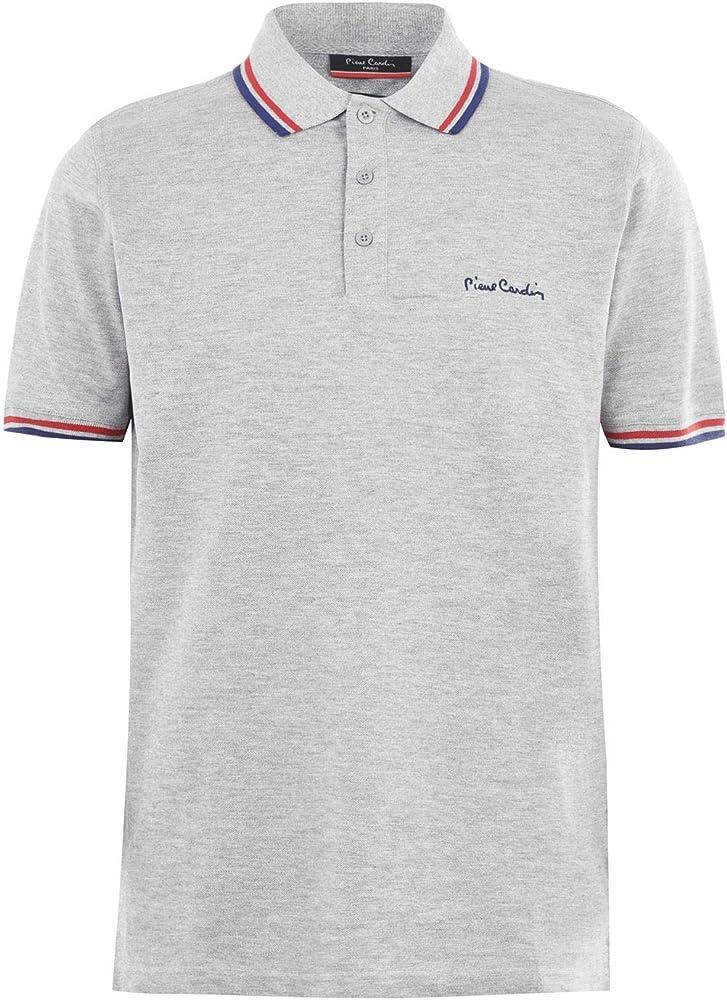 Pierre cardin, polo da uomo, maglietta maniche corte, 100% cotone FA028001C