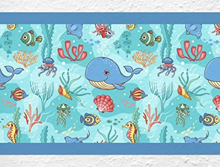 Amazon.fr : stickers dauphin - Décoration murale / Décoration de ...