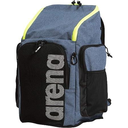 Arena Team Backpack 45 Großer Sportlicher Rucksack, Reise-, Sport-, Schwimm- und Freizeitrucksack, Strandrucksack mit Fach für Nasse Kleidung und Verstärktem Boden, 45 Liter