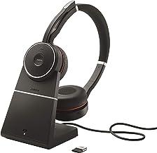 Jabra Evolve 75 Stereo UC, Charging Stand & Link 370 (Renewed)