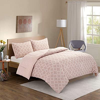 HollyHOME Bed in a Bag Comforter Set Twin 2 Pcs...