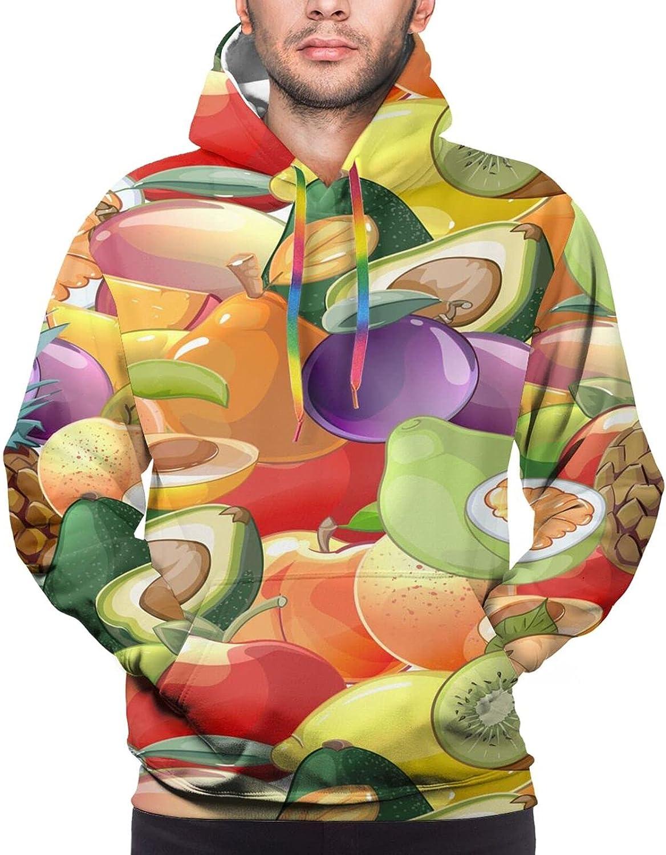 Cartoon Vegetable Fruits Pattern Unisex 3D Print Max 70% Financial sales sale OFF Ho Streetshirts