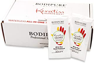 Bodipure Keratin Gloves Waterless All in One Treatment 50 pairs by For Pro