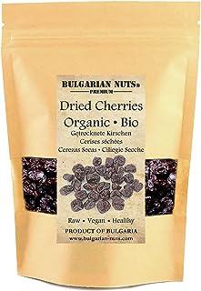 1 kg Bio Gedroogde Kersen, Ontpit, Vrij Van - suikers, zoetstoffen, additieven, conserveermiddelen, gluten, zongedroogd