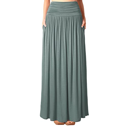 fashionable and attractive package 60% discount special section Maxi Skirt with Pockets: Amazon.co.uk
