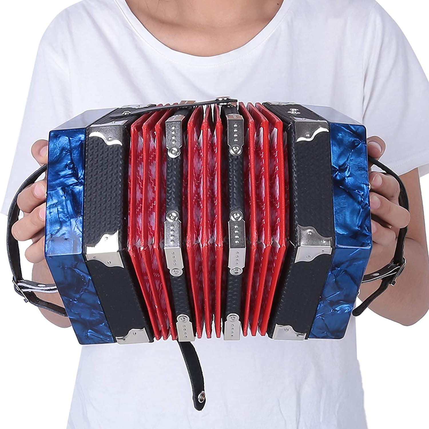 Excellence Concertina ABS Durable Professional Reservation Easy Play Conve To Learn