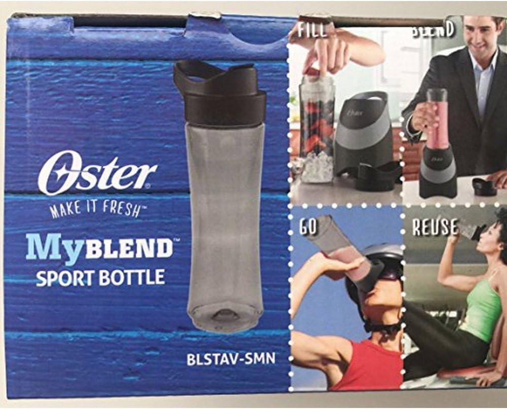 Dealing full price reduction Oster Special sale item MyBlend Sport Bottle BLSTAV-SMN Ounces Free BPA Gray 20