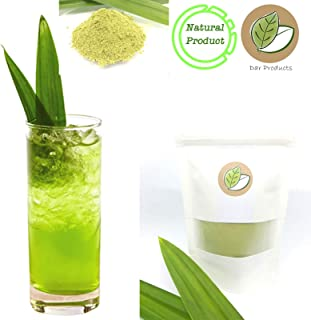 Pure Fragrant Pandan Leaf Powder Extract l Aromatic Herbal Thai Tea, Quenching Thirst - Refreshing Summer Ice Tea - Natural Food Flavor – Asian Gourmet (70g.)